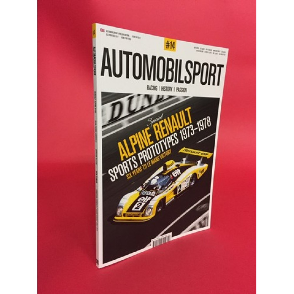 Automobilsport Racing / History / Passion 14: Special Alpine Renault Sports Prototypes 1973-1978