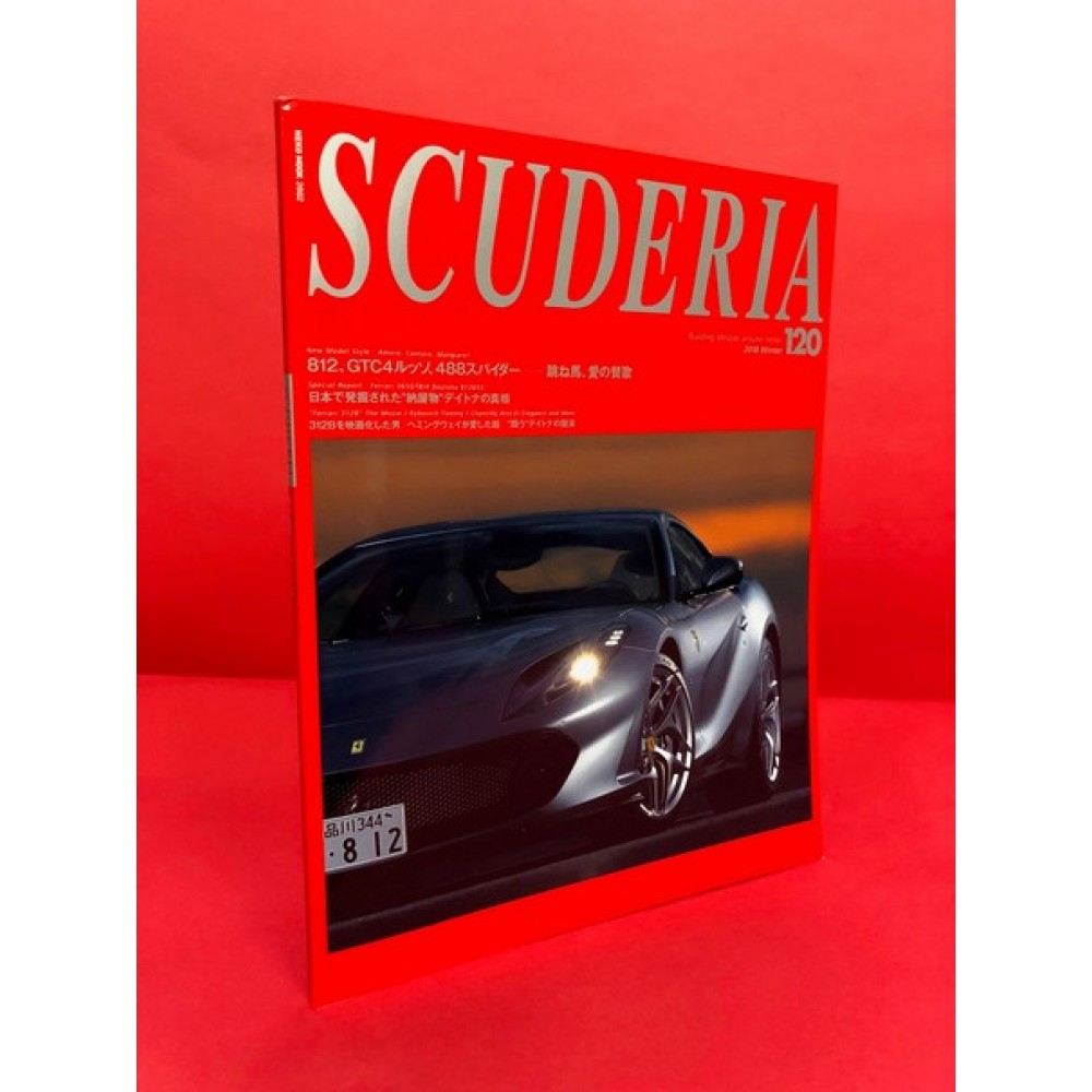 Scuderia Magazine For Ferraristi Number 120 2018