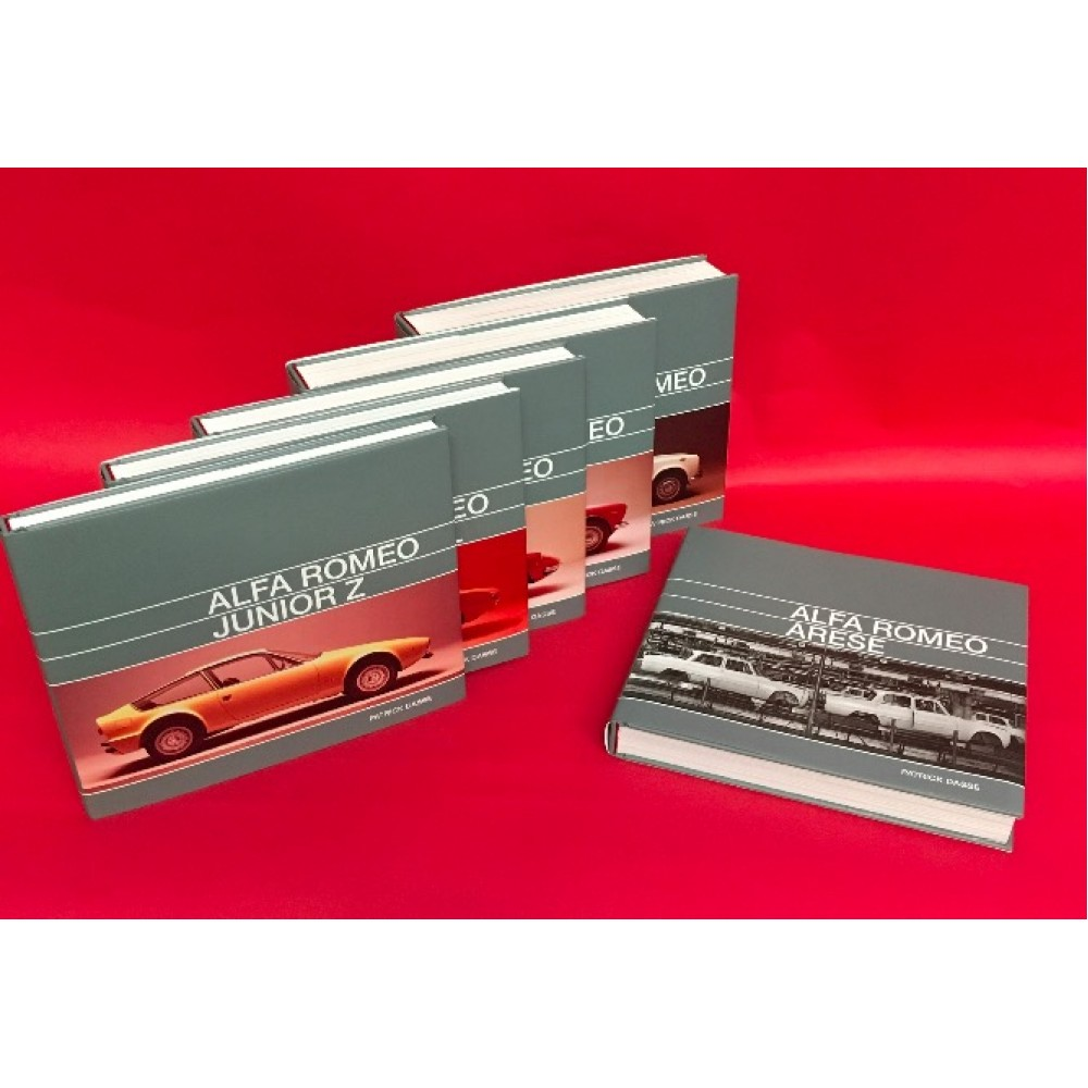 Alfa Romeo Tipo 105 - Set of 6 Books