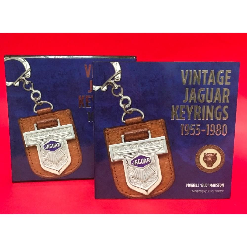Vintage Jaguar Keyrings 1955 - 1980