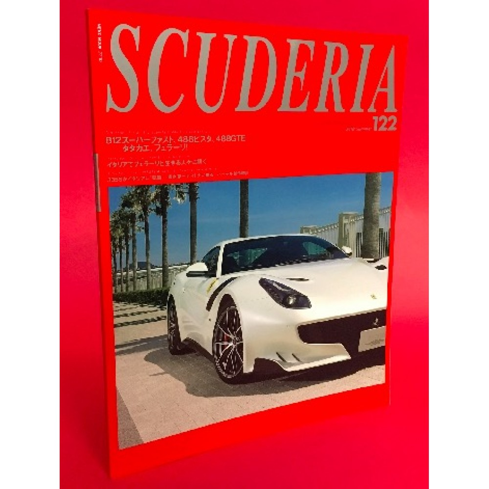 Scuderia Magazine For Ferraristi Number 122 Summer 2018