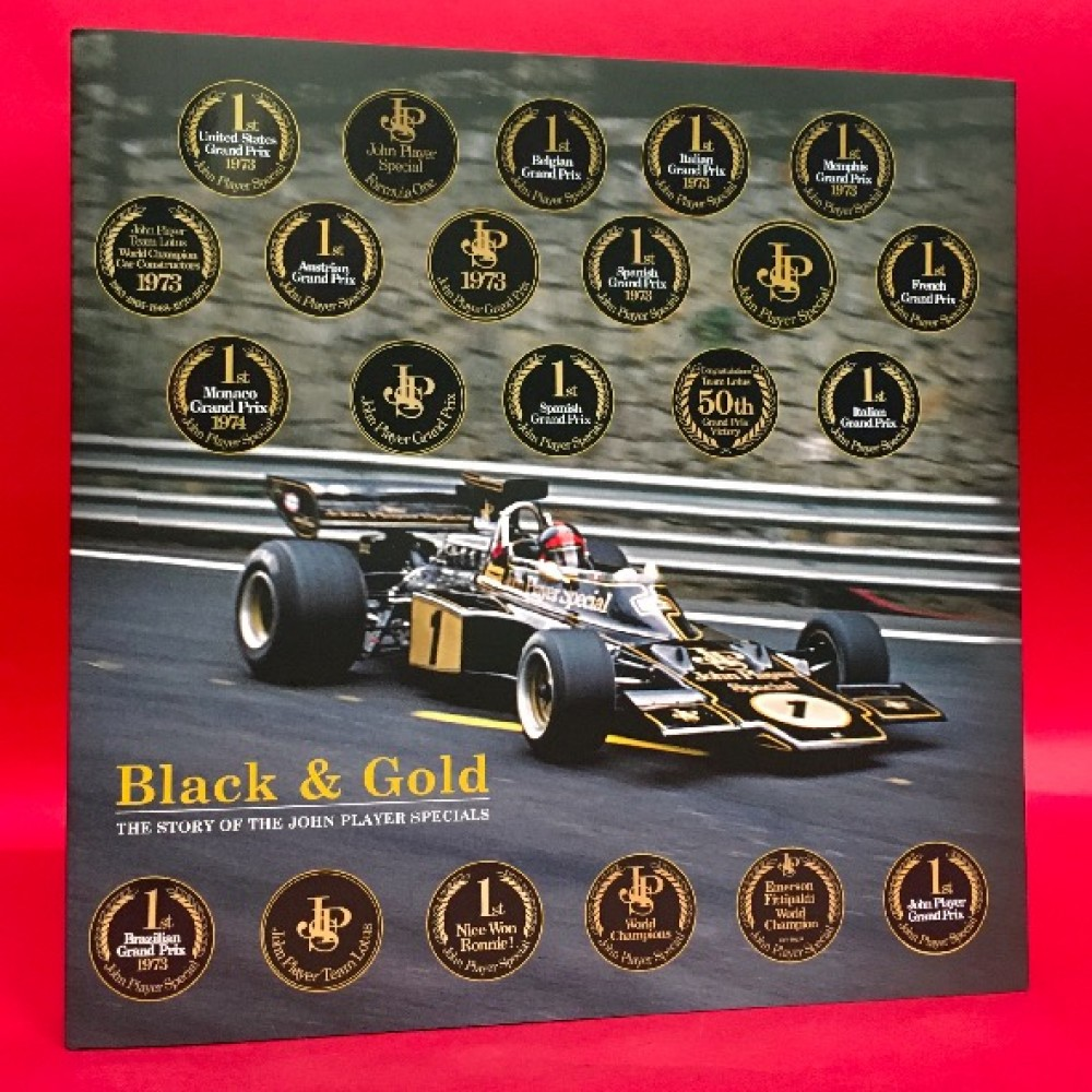 Black & Gold: The Story of the John Player Specials - Standard Edition