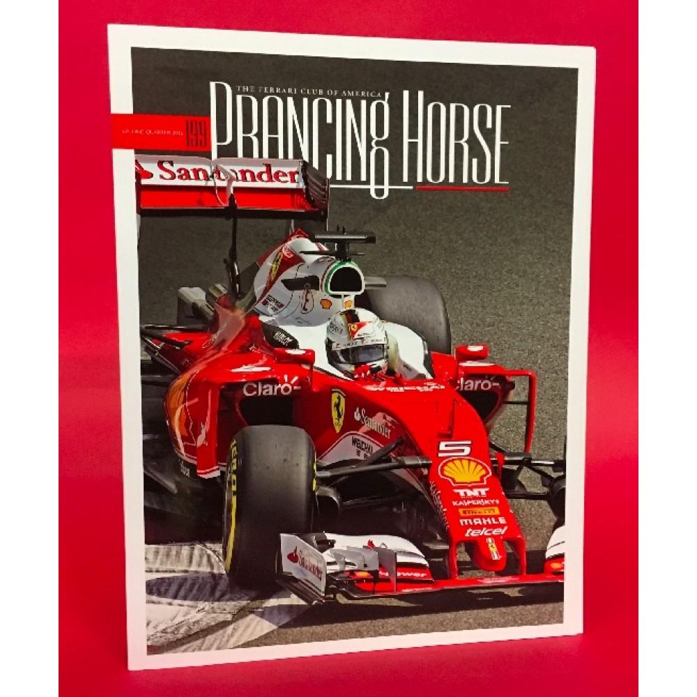 Prancing Horse Ferrari Owners Club of America Magazine Issue 199 Second Quarter 2016