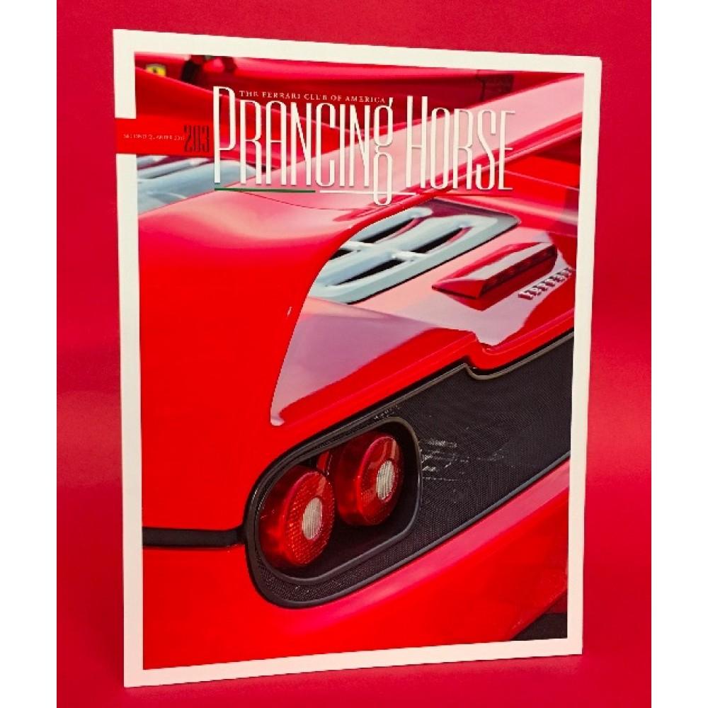 Prancing Horse Ferrari Owners Club of America Magazine Issue 203 Second Quarter 2017