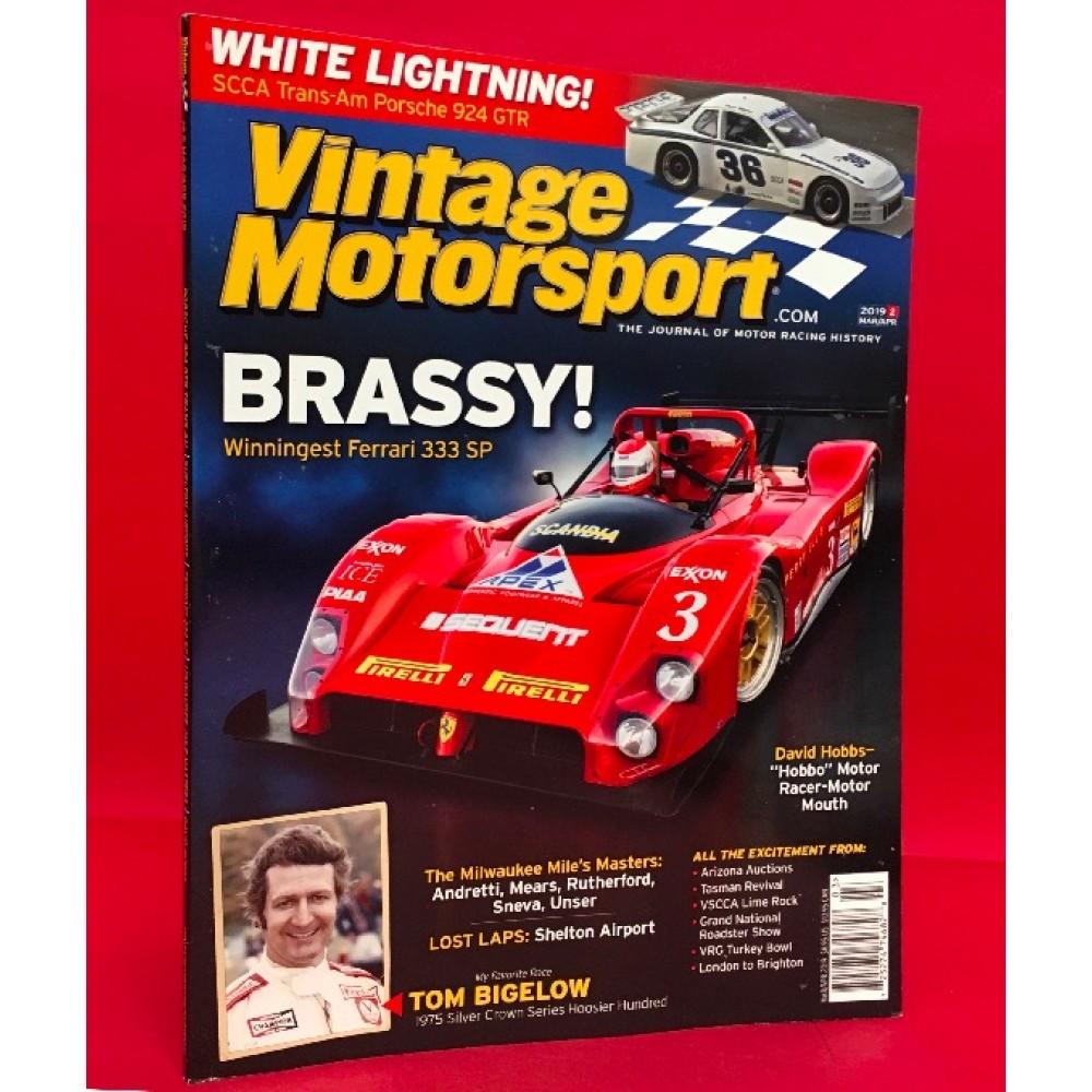 Vintage Motorsport The Journal Of Motor Racing History Mar/Apr 2019.2