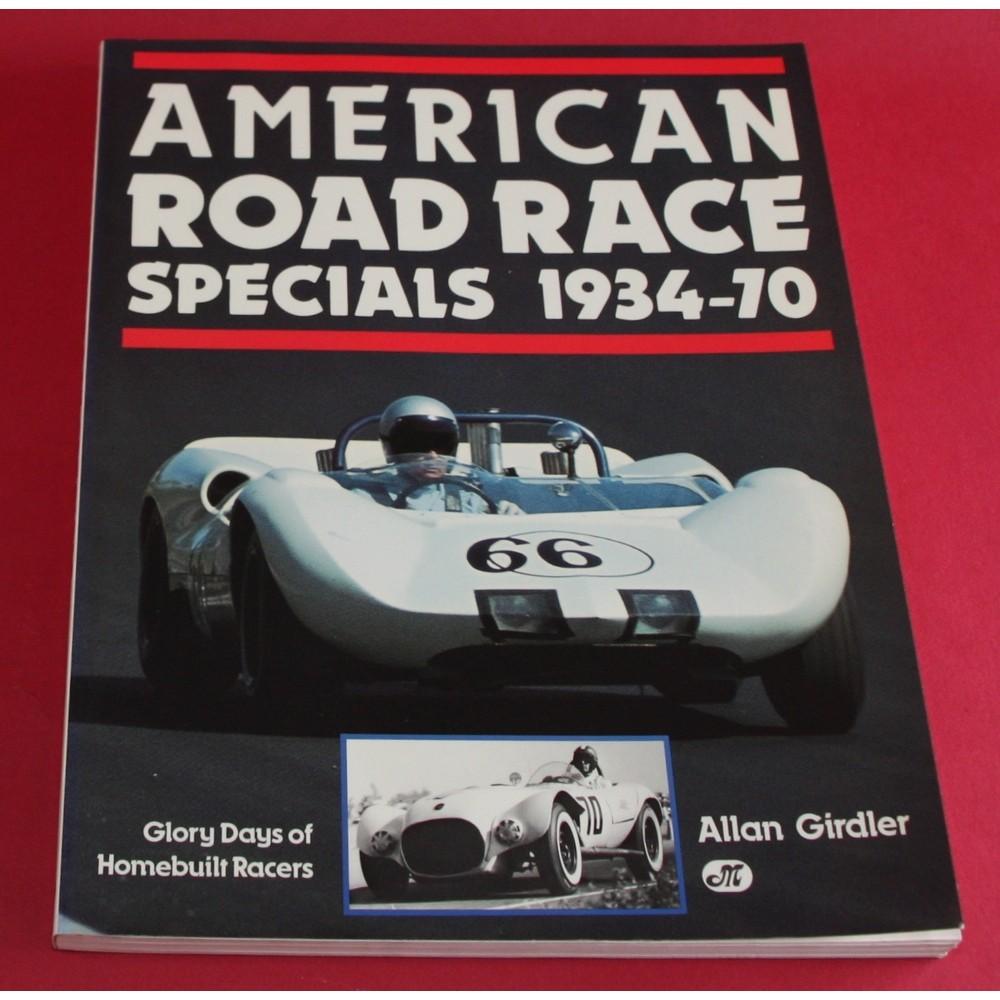 American Road Race Specials 1934-1970