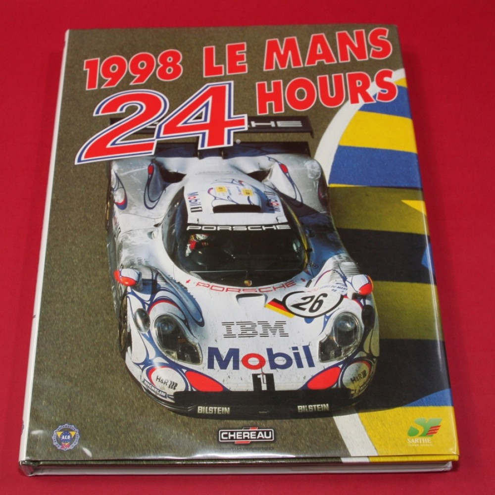 24 Hours Le Mans 1998 Official Yearbook English Edition - Signed