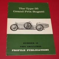 Profile Publications No 10:  The Type 35 Grand Prix Bugatti