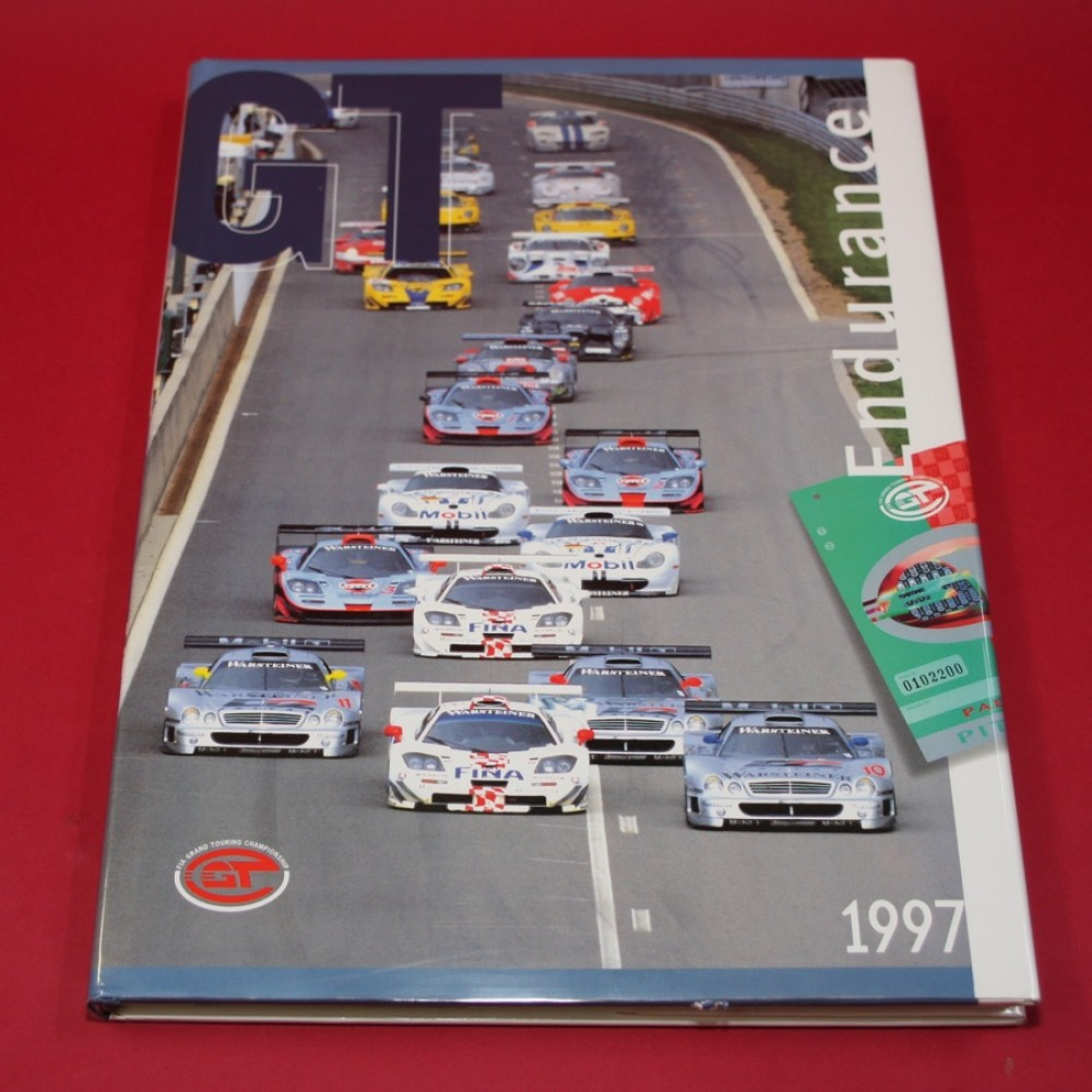GT Endurance 1997 - Signed by Justin Bell