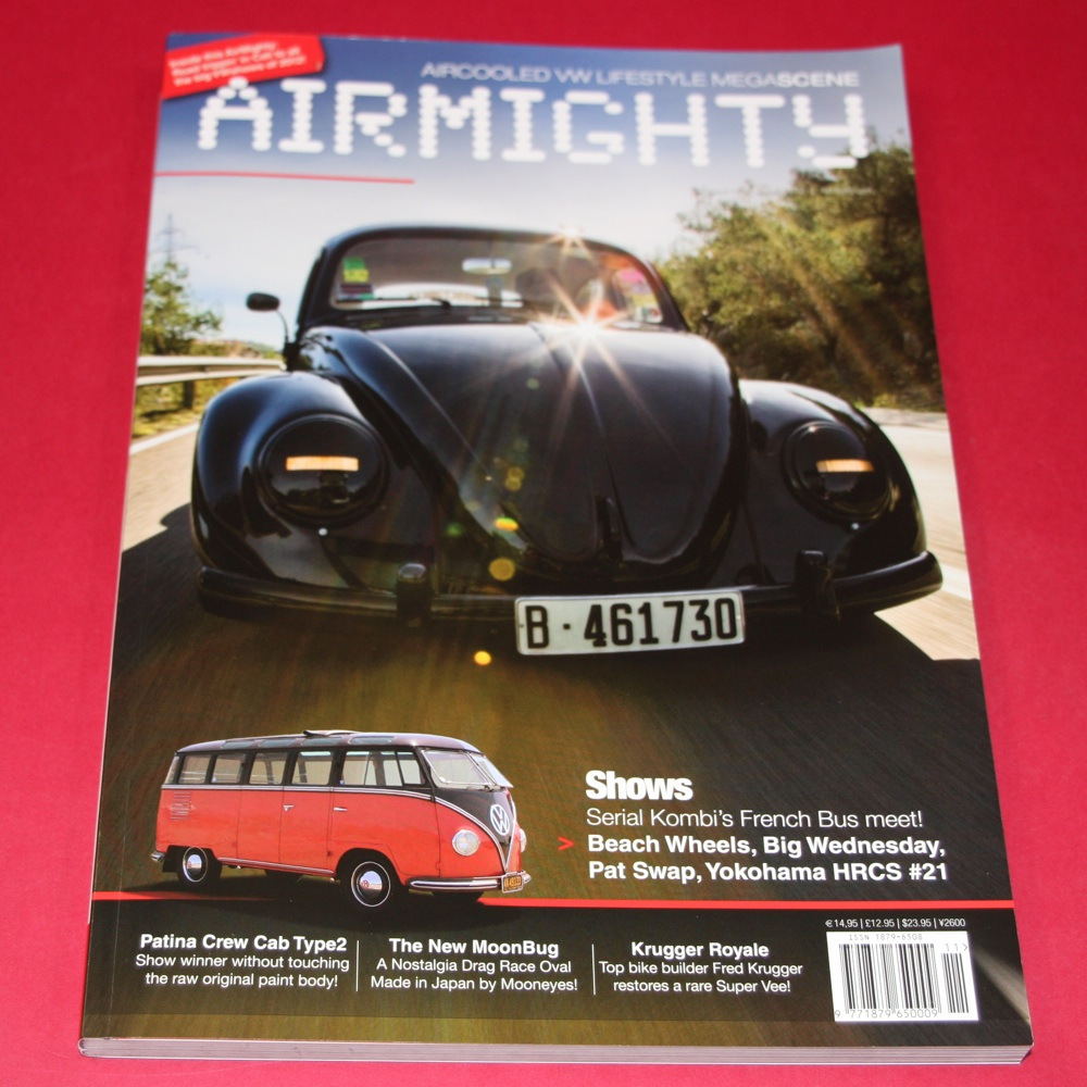 Aircooled VW Lifestyle Megascene:  Airmighty issue 11