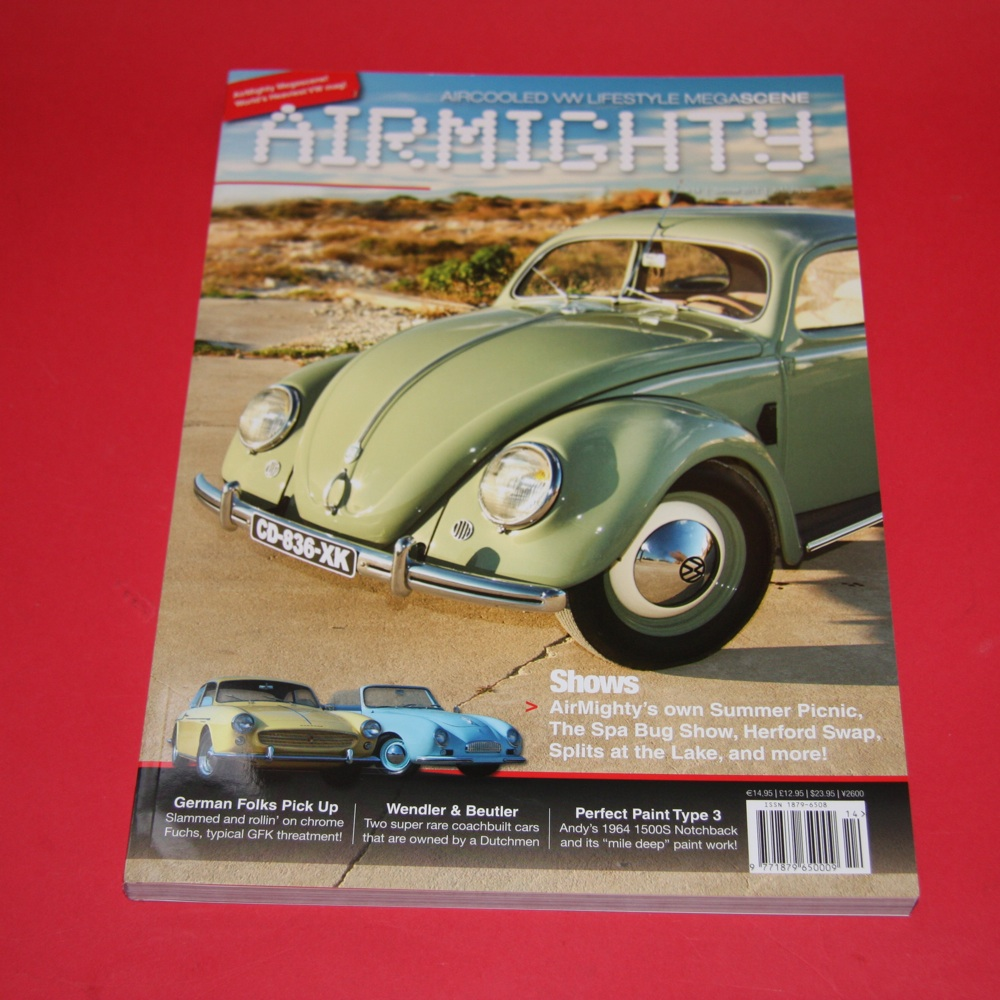 Aircooled VW Lifestyle Megascene:  Airmighty issue 14