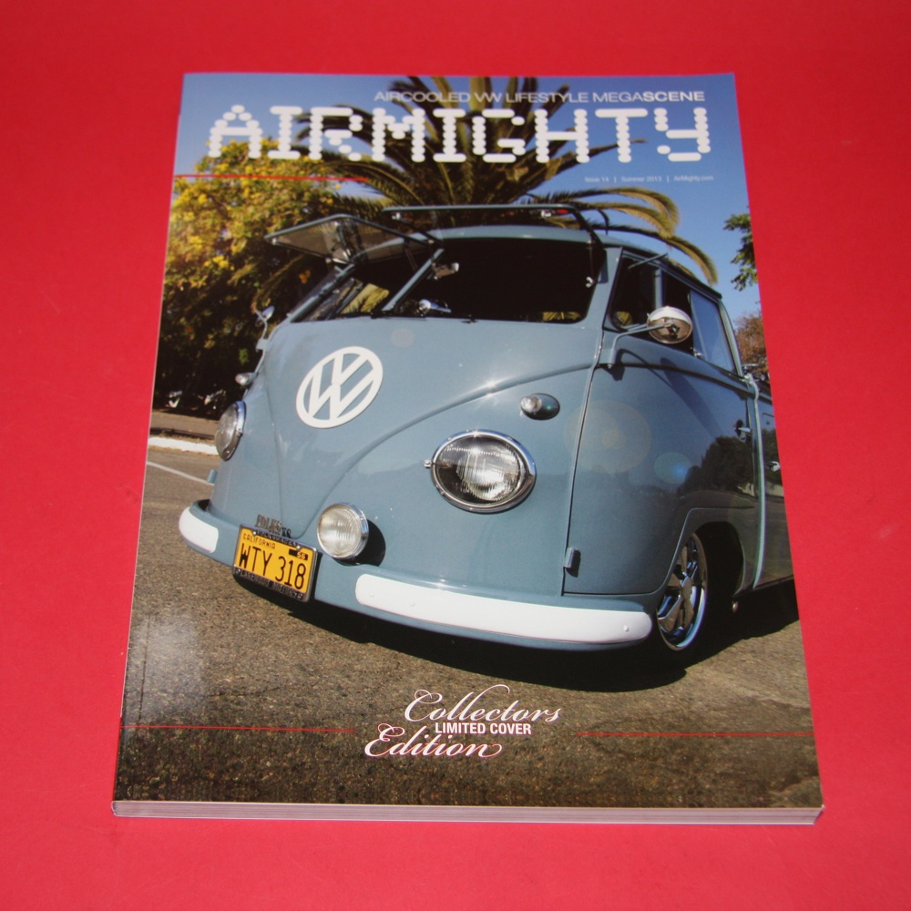 Aircooled VW Lifestyle Megascene:  Airmighty issue 14 Collectors Limited Cover Edition