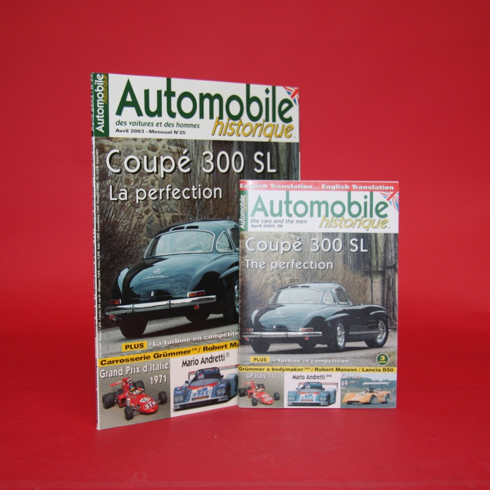 Automobile Historique  Avril  2003 - Mensuel No 25