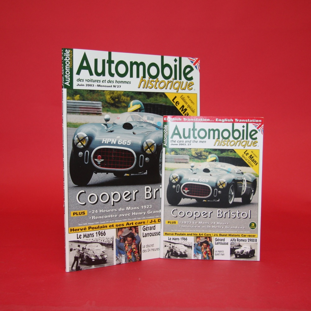 Automobile Historique  Juin 2003 - Mensuel No 27