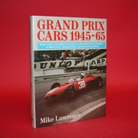 Grand Prix Cars 1945-65 - Signed by Tony Brooks, John Cooper, Stirling Moss, Roy Salvadori, R.R.C Walker & Mike Lawrence