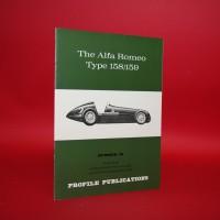 Profile Publications No 30 : The  Alfa Romeo Type 158/159