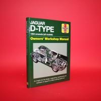 Jaguar D-Type 1954 onwards (all models) Owner's Workshop Manual