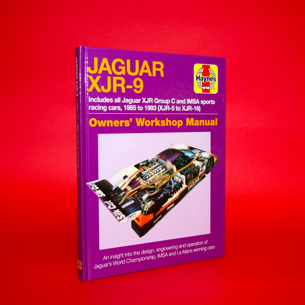 Jaguar XJR9  Includes all Jaguar XJR Group C and Imsa sports racing cars 1985 to 1993 (XJR-5 to XJR-16 ) Owner's Workshop Manual