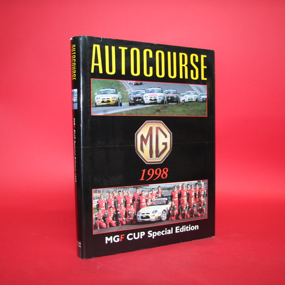 Autocourse 1998-99  With the  MG 1998 MGF Cup Special Edition Cover