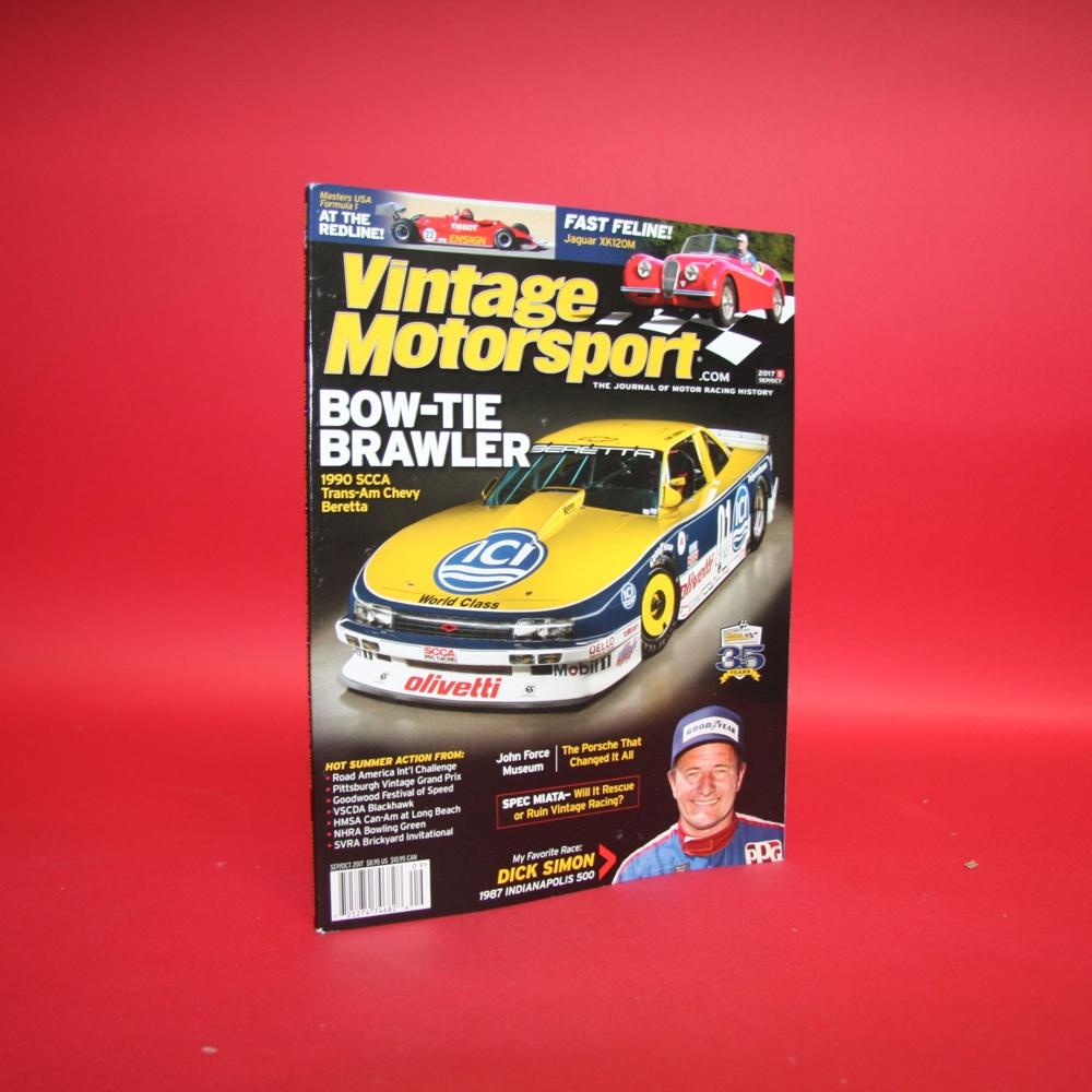 Vintage Motorsport The Journal of Motor Racing History  Sep/Oct 2017.5