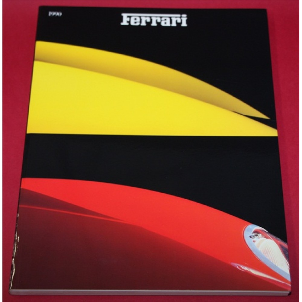 Ferrari Yearbook 1990 English Edition