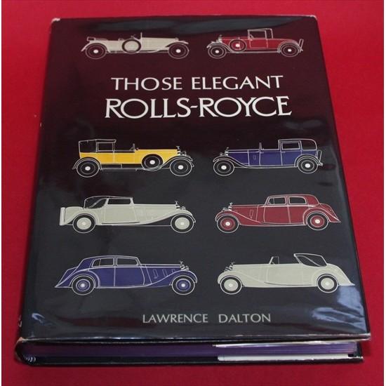 ROLLS ROYCE ELEGANT DALTON BOOK COACHBUILT HOOPER BARKER MULLINER BREWSTER